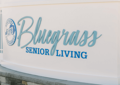 bluegrass senior living outdoor